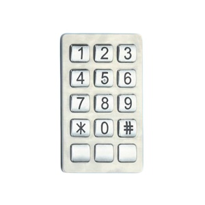 industrial telephone keypad 5x3 zinc alloy keypad with great price - B529