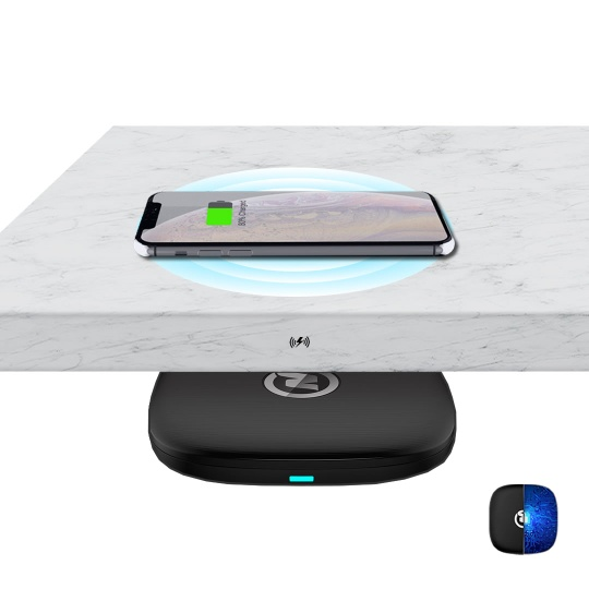 ZeePower 20mm Invisible Wireless Charger, Long distance Fast Wireless Charger - GK20001