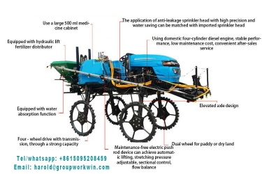 Small self propelled sprayer - Small self propelled