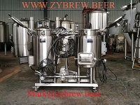 Micro brewery, hobby brewing equipment, home brew machine - beer storage tank