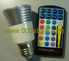 LED RGB remote controlled spotlight - LED Lights 2