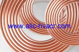 Pancake coil copper tube - Copper tubes
