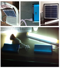 10w solar lighting system