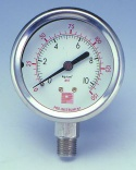PRESSURE GAUGE , THERMOMETER , STEEL BALL - PRESSURE GAUGE
