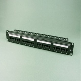 24 -port Cat6a unshielded patch panels (jack style) - PND24-UC6