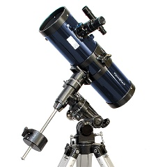 New Blue 4.5 Inch Reflector Telescope F 4.4 with Tripod - Reflector Telescope