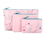 3 Size Fabric Cosmetic Pouch - BA006