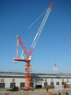 New China QTD100(4522) Self-erecting Luffing Jib Tower Crane