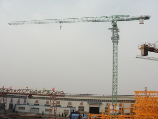 New China QTP125(6020) Self-erecting Topless Tower Crane