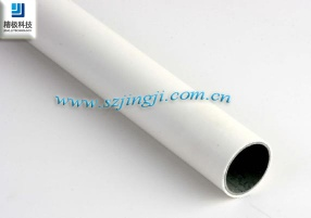 28mm PVC with white steel pipe for Industrial equipement,trolleys,or pipe rackings - HJ Series
