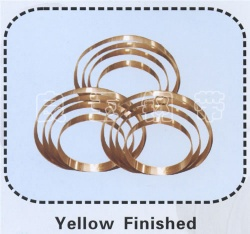 Yellow Finished Steel Strip - LY002