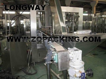 Beer filling machine (beer filler, bottling machine, beer filler monobloc - Beer filling machine