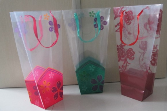 flower packaging bag
