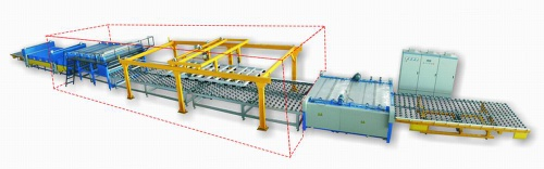 Auto flat glass laminating line - MT-JP Series