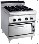 Gas Stove With Electric Oven (4-Burner) - FT-890-4EV