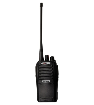 VR-500 Handheld Two-way Radio with Digital Signal Process