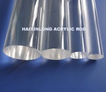 high transparency 93%  acrylic round rod - crylicrod