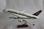 airplane model airbus380 Singapore 45cm - airplane model A380