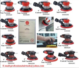 Air Random Orbital Sander/Polisher Pneumatic Polishing Tools/Machine with High Quality Vacuum System Rotary Type - super-series
