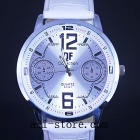 New White Fashion Design Mens Quartz Wrist Watch, KAH - 04