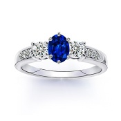 The Oval Summit Ring - SR0133S