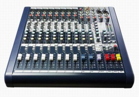 Soundcraft 2012 Professional Audio Mixer MFX8/2 - mfx 8/2