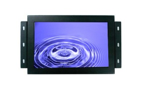 7 Industrial Open Frame Touch Screen Monitor with LED Backlight,300nits,800x480, VGA Input