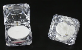 Clear crystal ring box - AP9
