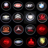 LED Auto 3D Logo Laser Lights for Different Brands,Custom Logo Available - G3