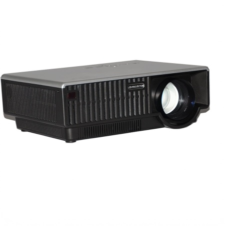 LED projector HD 1080p with AV VGA HDMI USB SD card(media player) Input for business home KTV education from barcomax