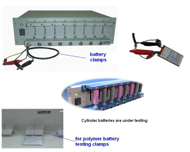 Mobile phone battery tester_8 channel - 5V3A