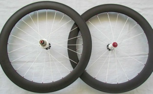 Carbon Wheels 50mm 700C Road Bicycle wheel set Tubular (pair) - 54354534
