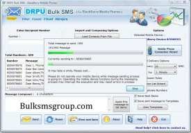 Group SMS Software BlackBerry - Bulk sms group