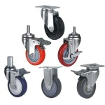 pu caste wheel,industrial caster,cabinet caster china - SCHC