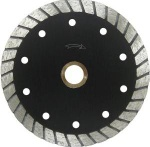 Continuous Wide Tooth Turbo Diamond Blade with Cooling Holes-Economy-4-14 - Continuous Wide Toot