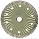 Wave Inner Core with Narrow Turbo Teeth Segment Diamond Blade-4 1/2-7 - Wave Inner Core wit