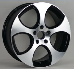 2013 Volkswagen Replica 17 Aluminum Alloy Wheels #219 - Alloy  Wheels