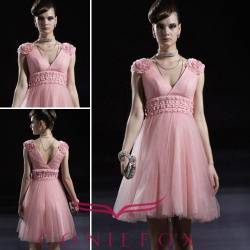 Ball dresses,pink ball dresses,Sleeveless ball dresses, Custom made ball dresses, - 80893