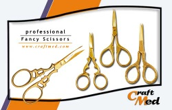 Fancy Scissors / Embroidery Scissors - CM-100 to 199