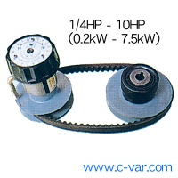 Stepless Belt Speed Variator (miki pulley mechanical gearbox variation type) - Belt variable