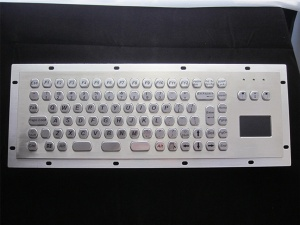 Metal Keypad with touchpad - D-8609
