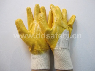 Cotton with yellow nitrile glove - DCN303
