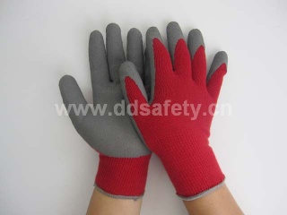 Knitted with latex glove - DKL411