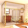 Tempered Glass Bathroom Partition Shower Screen - MB18676599826