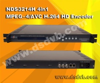 H.264/avc HD 4 in 1 digital encoder - NDS3214H