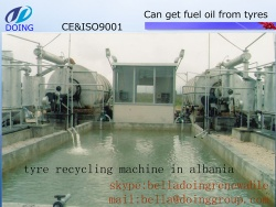 waste tyre pyrolysis machine turn waste tyre plastic to oil - 01