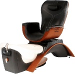 wooden luxury spa chair /pedicure chair