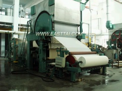 High speed tissue paper machine - tissue machine