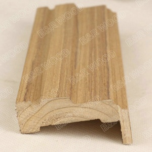 Burma Teak veneered solid wood door trim and frame - ER-02