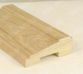 Laminated plywood skirting board for wood laminated flooring - E&R Wood